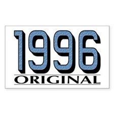 1996 Original Rectangle Decal