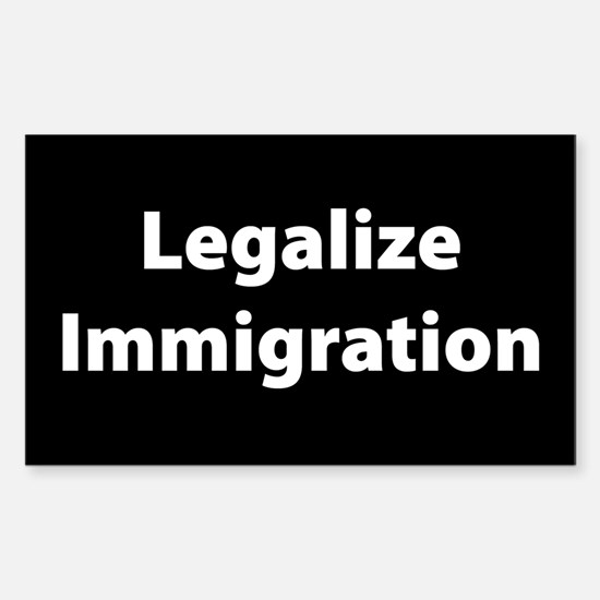 Legalize Immigration - Rectangle Decal