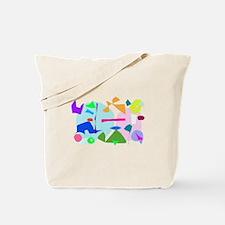 Ice Cream Flavors Shop Entertainment Tote Bag
