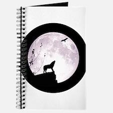 Cute Wolf moon Journal