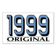 1999 Original Rectangle Decal