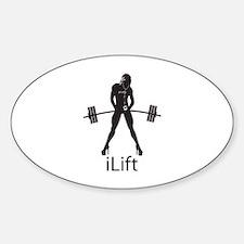 iLift Sticker (Oval)