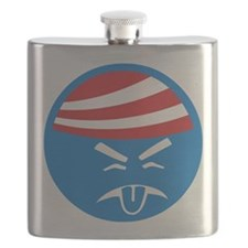 Obama Sucks Icon Flask
