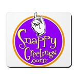 Snappy Greetings Mousepad