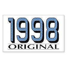 1998 Original Rectangle Decal