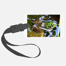 Young Bullfrog Luggage Tag