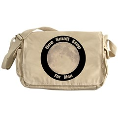 One Small Step For Man Messenger Bag
