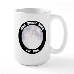 One Small Step For Man Mug