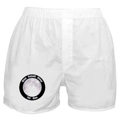 One Small Step For Man Boxer Shorts