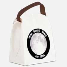 One Small Step For Man Canvas Lunch Bag