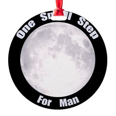 One Small Step For Man Ornament