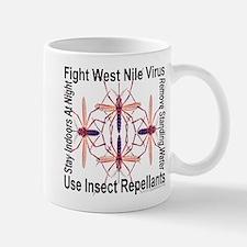 Fight West Nile Virus Mug