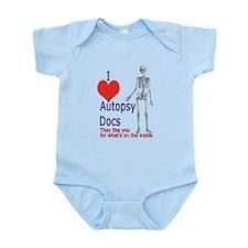 Autopsy Docs Infant Bodysuit