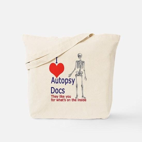 Autopsy Docs Tote Bag