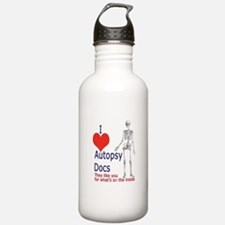 Autopsy Docs Water Bottle