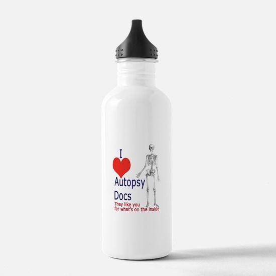 Autopsy Docs Water Bottle