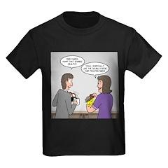 Rice Cake Dilemma Kids Dark T-Shirt