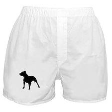 pitbull shadow Boxer Shorts