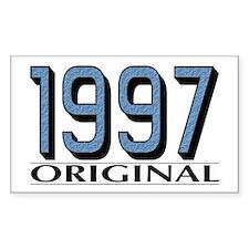 1997 Original Rectangle Decal