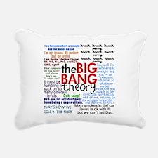 Big Bang Quotes Rectangular Canvas Pillow