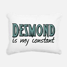 Desmond is My Constant Rectangular Canvas Pillow