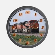 Bnsf Train Wall Clock