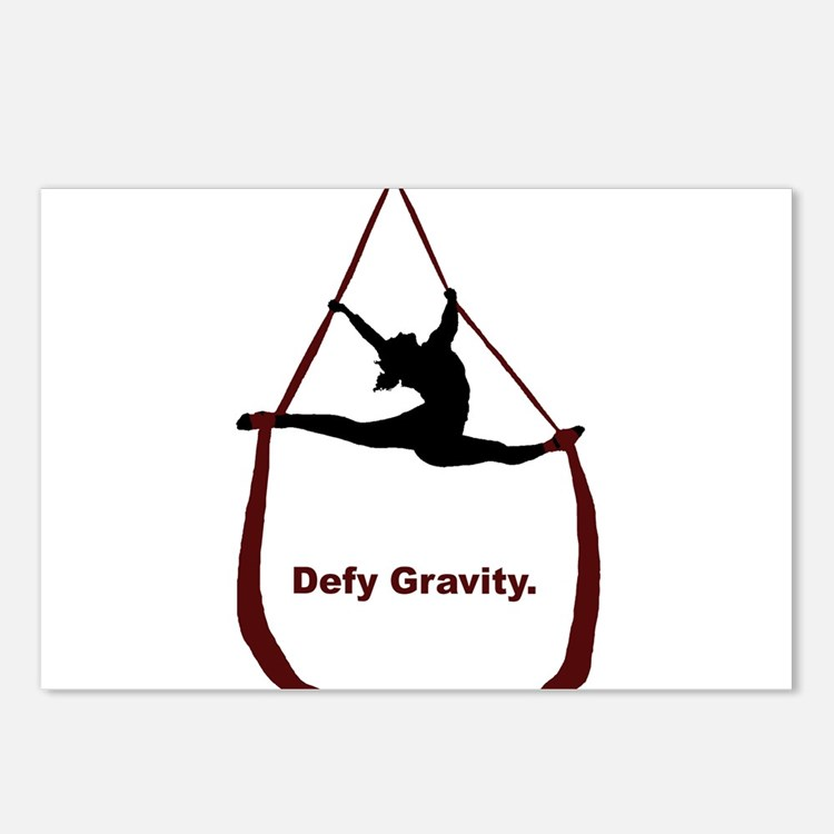 Defy Gravity Postcards (Package of 8)