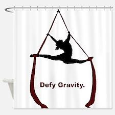 Defy Gravity Shower Curtain