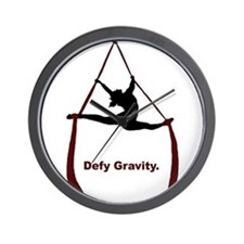 Defy Gravity Wall Clock