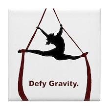 Defy Gravity Tile Coaster
