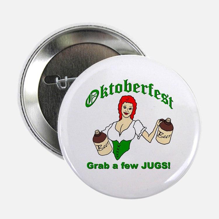 Oktoberfest...Grab a few Jugs! Button