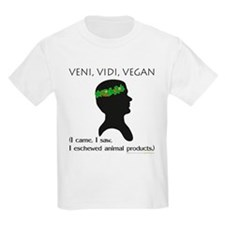 Veni Vidi Vegan Kids T-Shirt