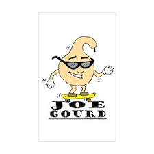 Joe Gourd Rectangle Decal