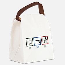 Eat Sleep Act Canvas Lunch Bag