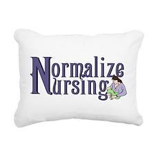 Normalize Nursing Rectangular Canvas Pillow