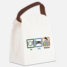 Eat Sleep Breastfeed Canvas Lunch Bag