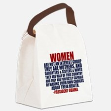 Pro Choice Women Canvas Lunch Bag