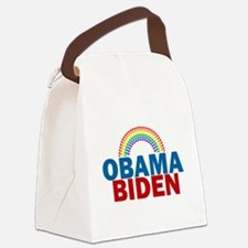 Obama Rainbow Canvas Lunch Bag