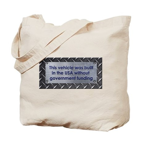 Built in the USA Tote Bag