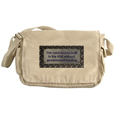 Built in the USA Messenger Bag