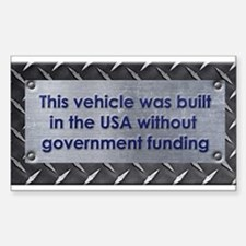 Built in the USA Decal