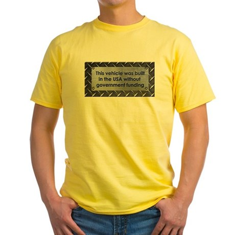 Built in the USA Yellow T-Shirt