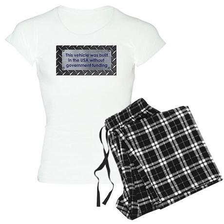Built in the USA Women's Light Pajamas