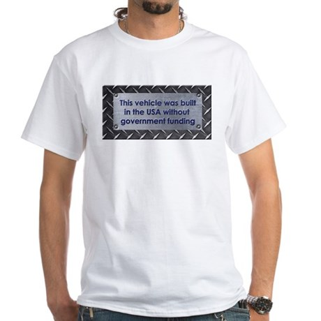Built in the USA White T-Shirt