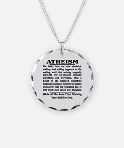 Defining Atheism Necklace