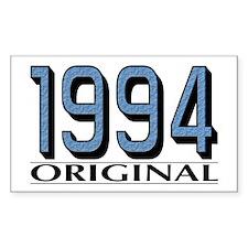 1994 Original Rectangle Decal