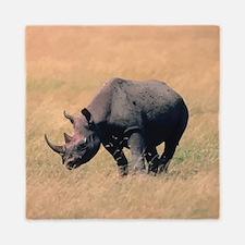Rhinoceros Queen Duvet