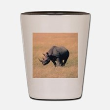 Rhinoceros Shot Glass
