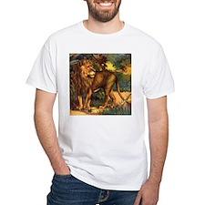 Vintage Lion Painting Shirt