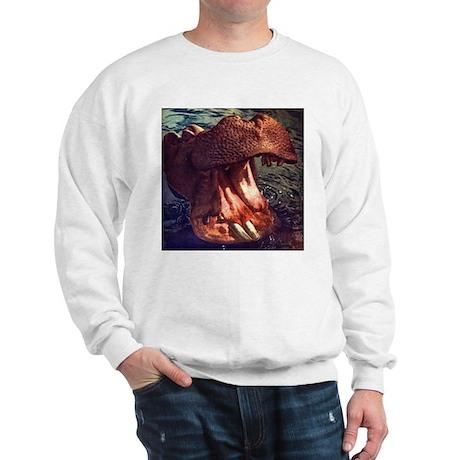 Vintage Hippopotamus Sweatshirt